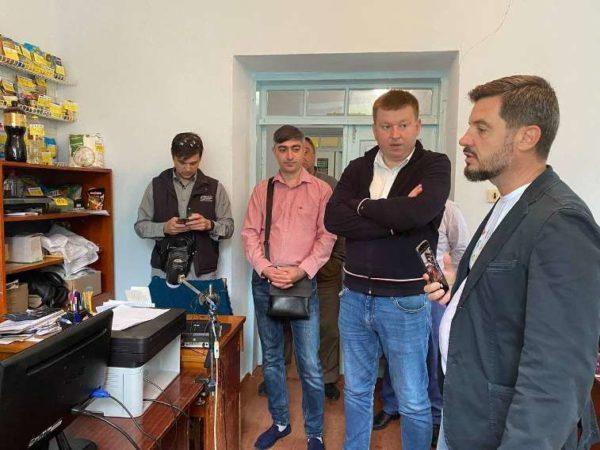 Арцизская громада первой в области компьютеризировала отделение «Укрпочты»