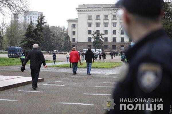 Замминистра МВД: годовщина событий 2 мая в Одессе прошла спокойно