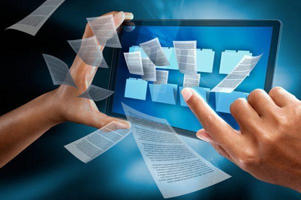 С 24 августа государственные органы Украины прекратят использовать бумажные документы