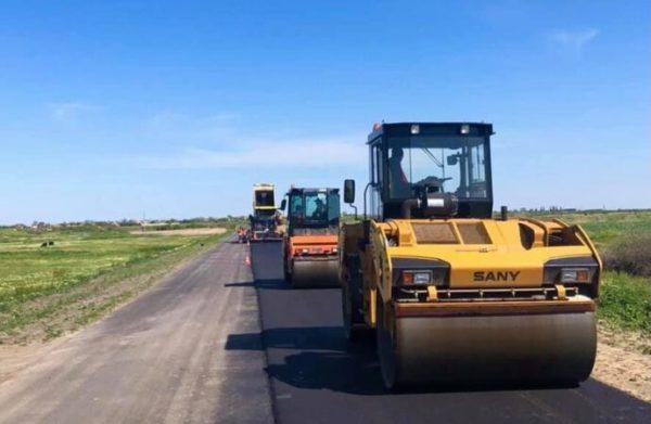 Возобновлены ремонтные работы на дороге Т-16-07 Измаил-Килия-Вилково