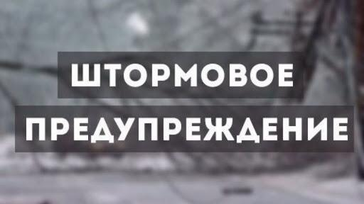 Штормовое предупреждение объявлено по Одесской области