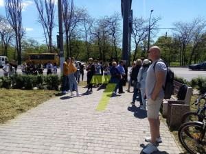 В Одессе обманутые инвесторы вышли на митинг
