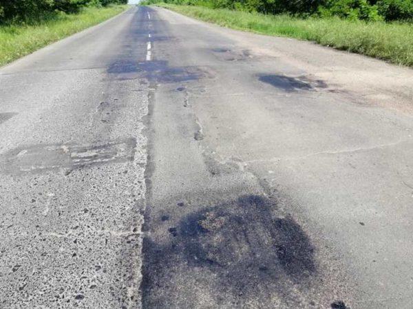 От резкой,  внезапной жары в Одесской области растаяли дороги