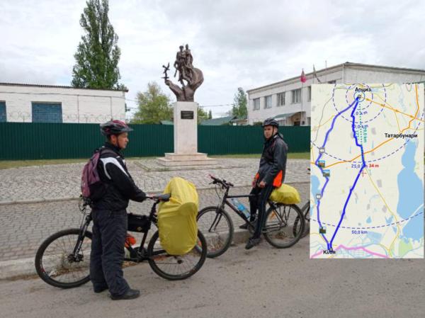 Арцизские школьники приняли участие в веломарафоне протяженностью 150 км