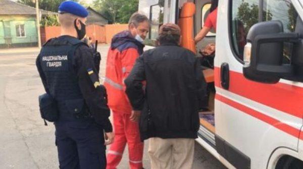 В Измаиле нацгвардейцы спасли мужчину, у которого случился инсульт