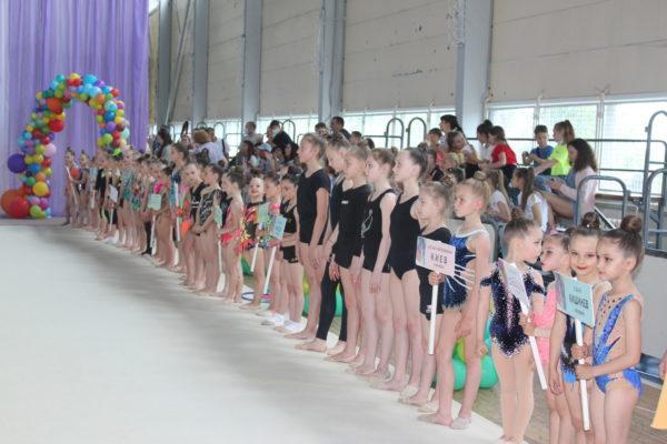 В Измаиле стартовал турнир по художественной гимнастике