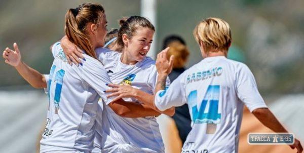 Впервые в Евролиге примут участие пляжные футболистки из Одесской области