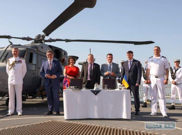 В Украину с Британии будет поставляться корабельное вооружение и  ракетоносцы
