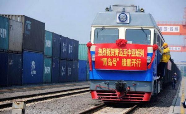 Впервые поезд из китайского Гуанчжоу доставил груз в Одесскую область