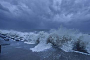 Мощнейший циклон накрыл юг Украины