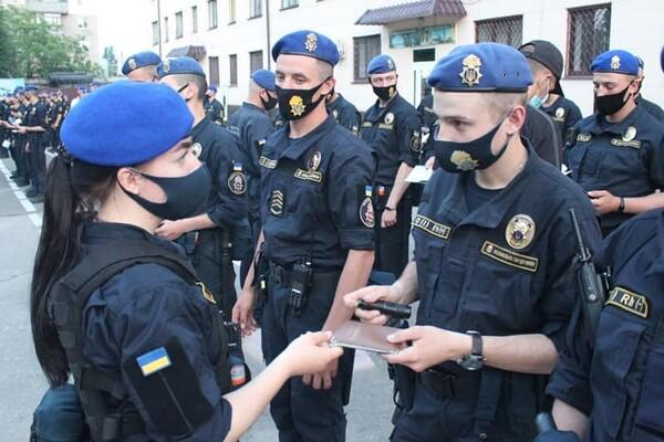 Женщина-нацгвардеец в Одессе, впервые в Украине, возглавила патрулирование города