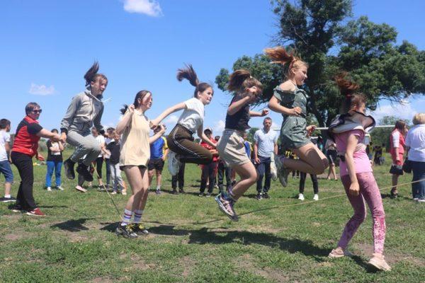 Для детей Арцизской громады провели спортивные игры «Cool games» (ФОТО)