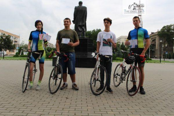 В Ассоциации велосипедистов Измаила состоялся торжественный выпуск