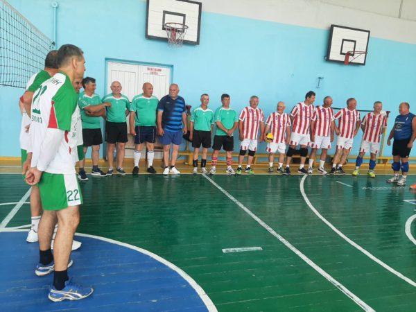 Ветераны-волейболисты Бессарабии отыграли турнир в Измаиле