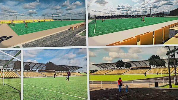Как изменится стадион Измаила: презентован проект реконструкции (фото)