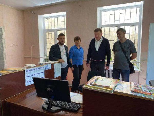 В селе Задунаевка Арцизской громады открыто восстановленное почтовое отделение