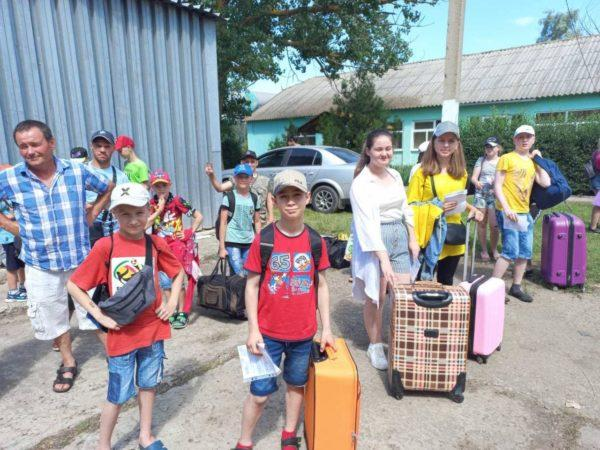 Детский оздоровительный  лагерь «Юбилейный» принял первых отдыхающих