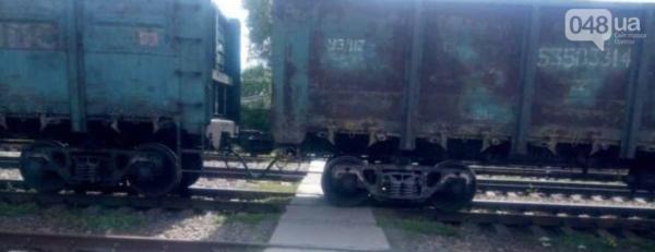 В Одессе пенсионер шагнул под поезд