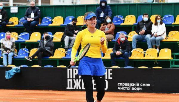 Одесская теннисистка Свитолина выиграла первый матч