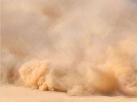 В Украину движется пылевое облако из Сахары
