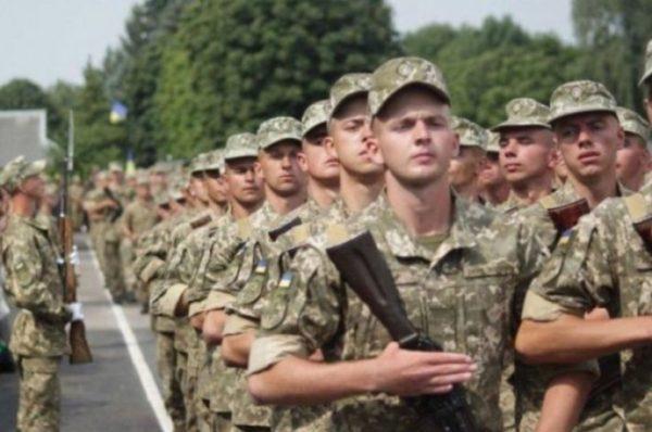 В Украине могут отменить обязательный призыв в армию