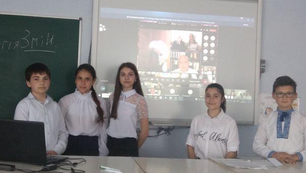 Ученики 7 класса Виноградовского ОЗЗСО заняли второе место в финале Всеукраинского конкурса молодежных проектов по энергоэффективности «Энергия и среда»