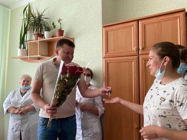 Семейный врач Арцизской больницы получила квартиру
