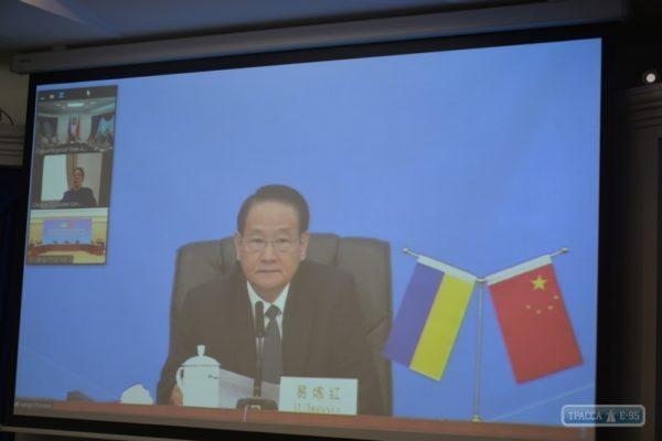 Одесская область заключила соглашение об установлении дружеских отношений с китайской провинцией Цзянси