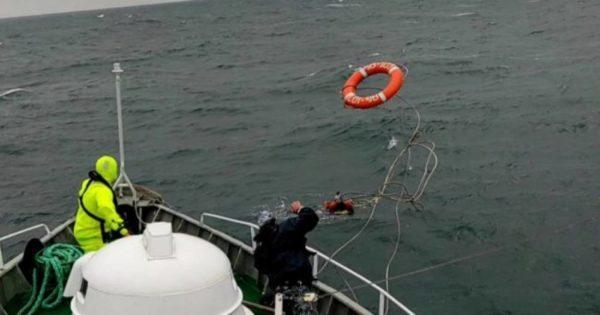 Во время учений Sea Breeze катер Измаильского отряда Морской охраны спас десантника
