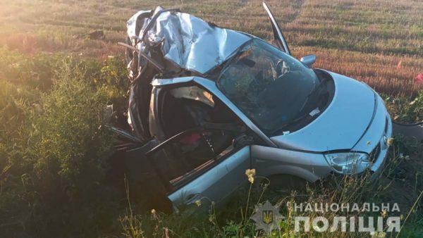 Машину разорвало на части в ДТП на трассе Одесса – Рени