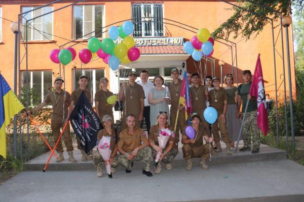 Команда Арцизской школы №5 вернулась с Всеукраинского этапа детско-юношеской военно-патриотической игры «Сокол» («Джура»)