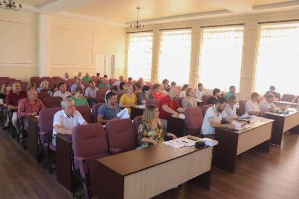В Арцизском горсовете состоялась внеочередная сессия депутатов (ФОТО)