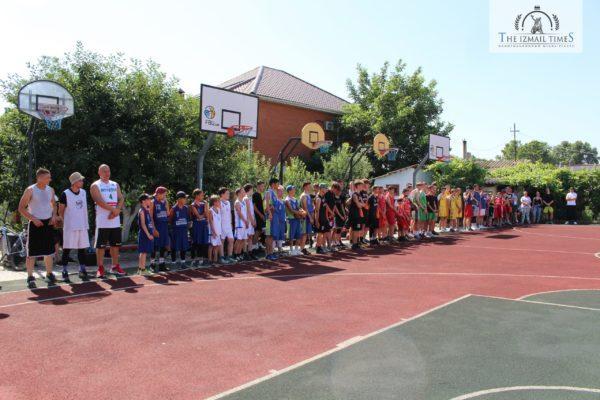 В Измаиле состоялось первенство Одесской области по баскетболу
