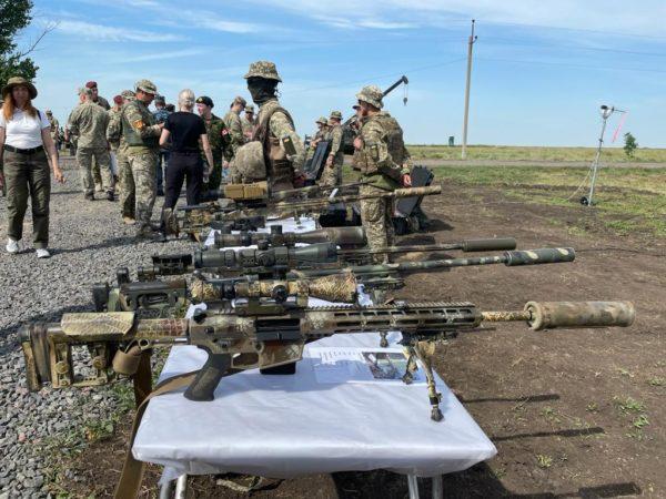 В Николаевской области проходят украинско-британские военные учения «Казацкая булава – 2021»