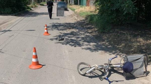 В Измаиле пьяный водитель ВАЗа сбил велосипедиста и скрылся с места ДТП