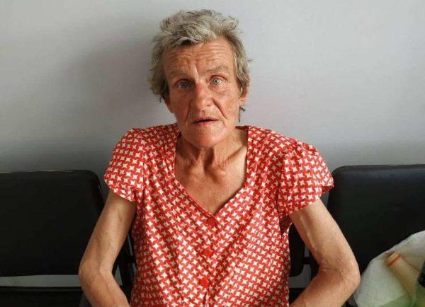 Арцизские полицейские просят установить личность женщины, потерявшую память.