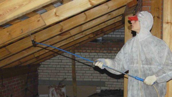 В школах Арцизской громады проводятся работы по огнезащитной обработке деревянных конструкций