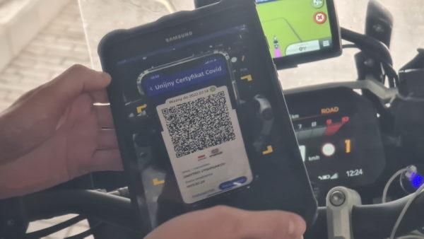 Все пограничные пункты пропуска Измаильский погранотряда оборудовали планшетами для проверки подлинности COVID сертификатов