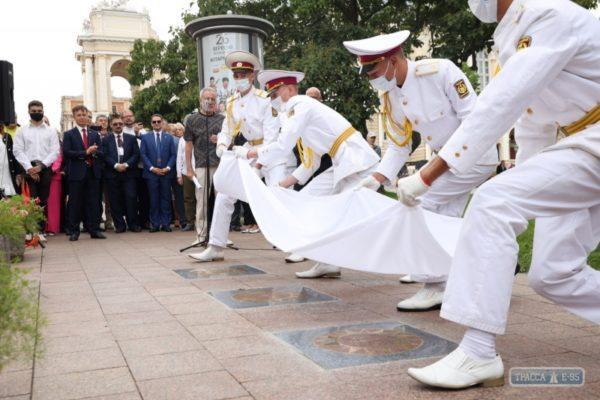 Аллея Звезд Одессы пополнилась тремя именами. Фото