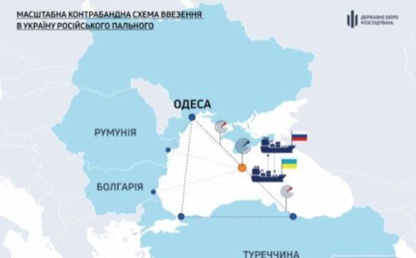 Российское топливо ввозилось в Украину контрабандой через Одесскую таможню