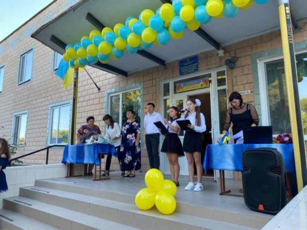 В Арцизской громаде прошли праздничные линейки по случаю начала нового учебного года