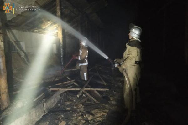 Тело погибшего мужчины обнаружено на пожаре в селе Главани Арцизской громады