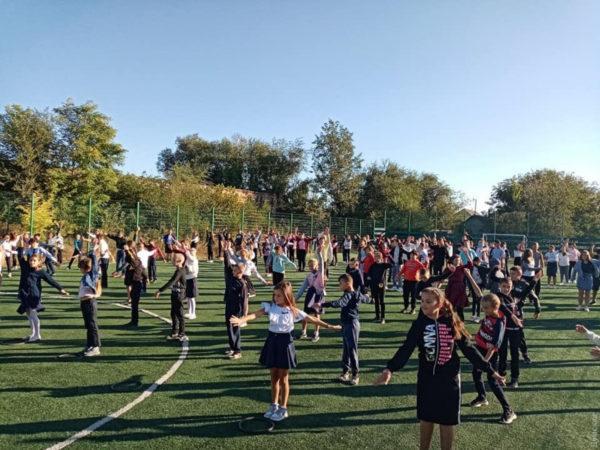 В школах Тарутинского громады ввели утреннюю зарядку