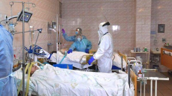 По данным Одесской ОГА, коечный фонд для больных коронавирусом в области загружен на 80%