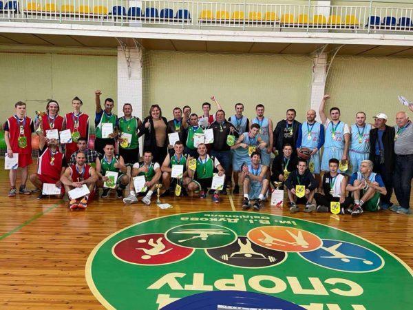 Сборная команда Арцизской громады по баскетболу вошла в тройку лучших в области