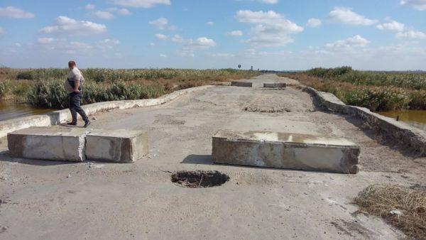 Служба автомобильных дорог перекрыла мост между Килией и Измаилом