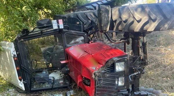 Сбежавшего с места ДТП водителя трактора, в котором погиб 9-летний ребенок, нашли и задержали