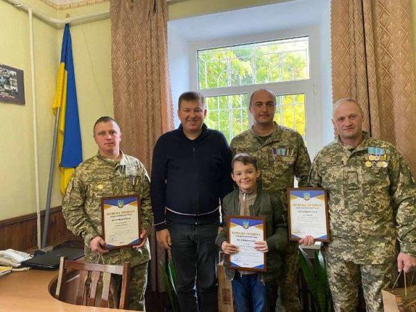 В Арцизской громаде поздравили военнослужащих с Днем защитника Украины
