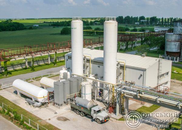 Несмотря на остановку производства, Одесский припортовый завод продолжает поставлять медицинский кислород