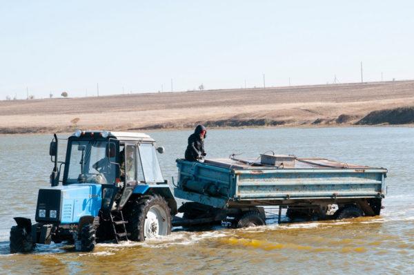 Озеро Китай начали зарыблять: до конца года в него выпустят миллион мальков